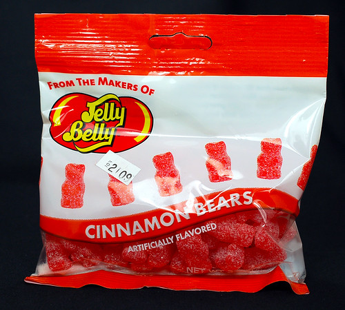 Jelly Belly Cinnamon Bears bag