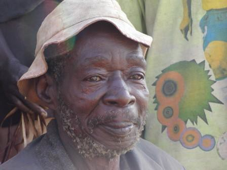 Chief of Lese village