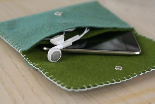 iPod cozy.