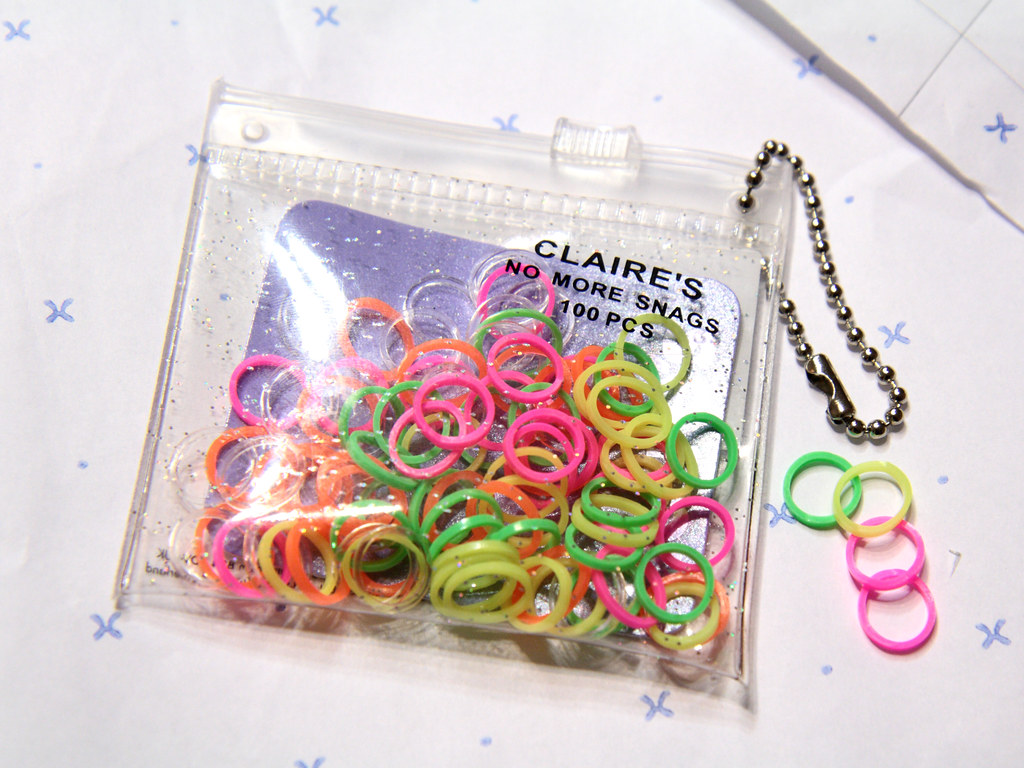 Knitting Markers Uk : Ghetto stitch markers it s a up