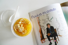 passion incarnate (alynnteo) Tags: food selfportrait dessert blog break paulsmith frieddoughfritters tausuan splitgreenbeansoup club21magazine