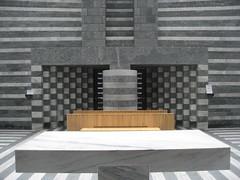 Chiesa San Giovanni Battista (jpmm) Tags: architecture switzerland ticino kerk 2010 mariobotta mogno greywhite riveogranite pecciamarble