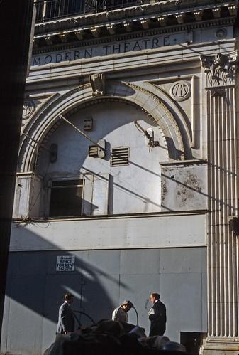 Modern Theatre Boston MA 1984