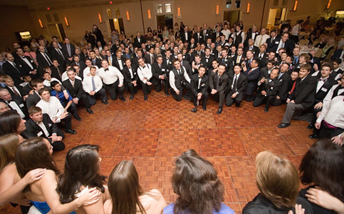 Sigma Chi Serenade their Sweethearts