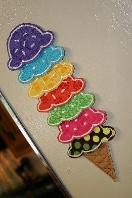 ice cream chore chart