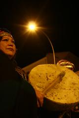 Marcha en Apoyo a los 32 Presos Politicos Mapuches en Huelga de Hambre