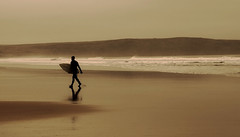 Left Coast Envy (Ben-Luck) Tags: beach water surf surfer devon wetsuit woolacombe