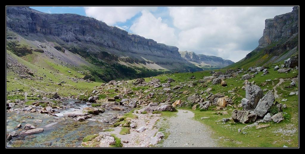Valle de Ordesa desde la Cola de Caballo