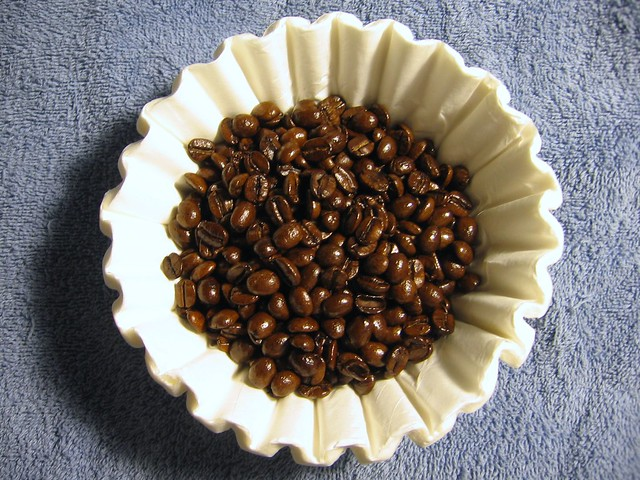 Maple bacon coffee beans