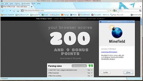 200 points au test html5test