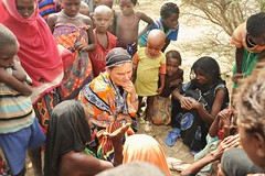 6b. Valerie finds out from those displaced the scale of the emergency and who needs help