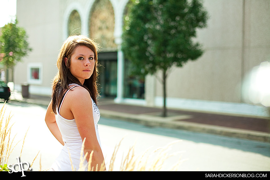 Kansas City senior portraits, Country Club Plaza
