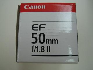Canon EF50mm f1.8 II Lens