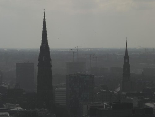Hamburg bei Regen