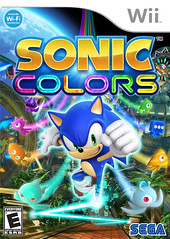 Sonic Colors Wii Packfront
