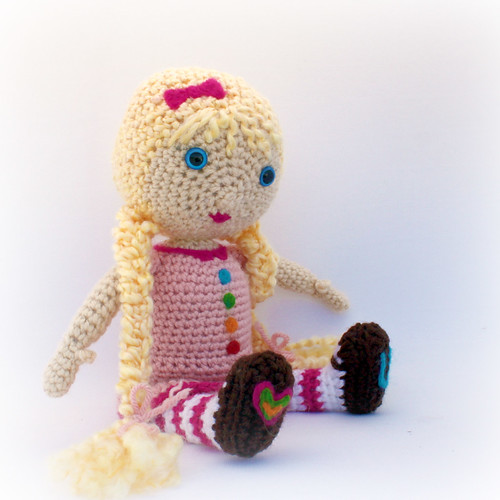 Felted comfort doll - Crochet Me