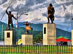 Homenaje a proceres de Independencia Venezolana