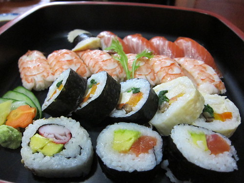 Sushi in Bolivia... WHAT COULD GO WRONG??