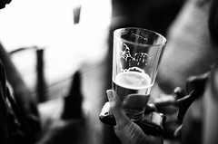 . (Ansel Olson) Tags: film beer virginia nikon fuji dof bokeh grain richmond 1600 va neopan f3 50mmf14 iphone snakesonaplane onaphone notquitethesameas