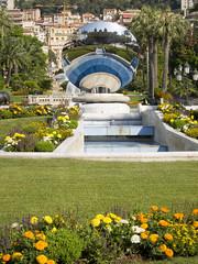 Jardín frente al Casino de Mónaco