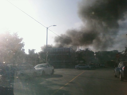Fire at 4th and Rose