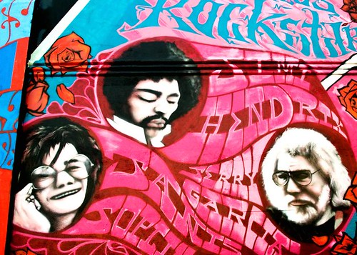 sanfrancisco california music rock hippies 60s mural blues haight hendrix 1960s psychedelic jimihendrix counterculture joplin jerrygarcia janisjoplin drugculture