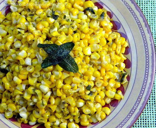 Sage and Lime Corn