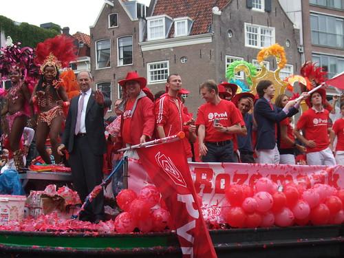 Job Cohen (PvdA) @ Gay Pride