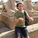Karnak Temple: Lame Sphinx