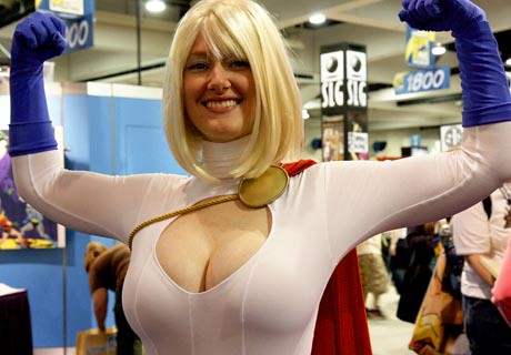 power girl comic con 2008 Nathan Rupert San Diego Shooter