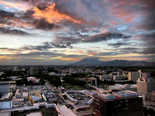 Tsukuba Sunset