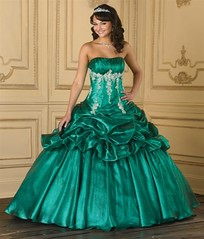 Green Quinceanera (Sabrina Satin1) Tags: fantasy satin crossdresser effeminate quinceanera ballgown crossdressingfantasy