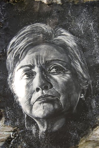 hillary clinton portrait. Hillary Clinton painted portrait _DDC9374. Secrets revealed of the Abode of Chaos (112 pages, adult only) gt;gt;gt; middot; quot;999quot; English version with English subtitles