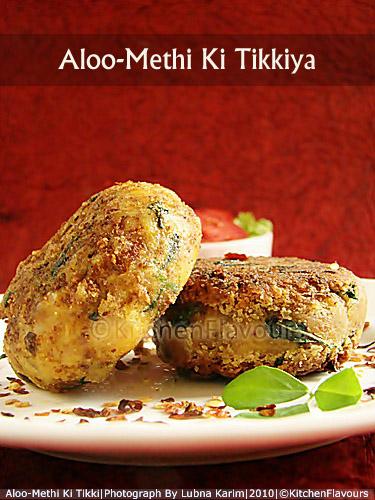 Aloo-Methi Ki Tikkiya