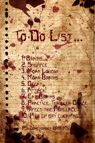 Zombie To Do List