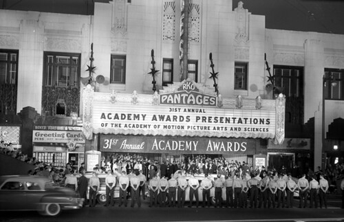 31st academy awards pantages