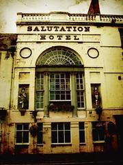 Salutation (monkeyiron) Tags: texture hotel scotland perth salutation