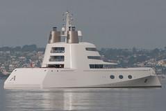 Motor Yacht A stern quarter view (SBGrad) Tags: aperture nikon sandiego yacht nikkor 2010 alr d90 blohmvoss superyacht 80200mmf28dafs motoryachta blohmvossgmbh