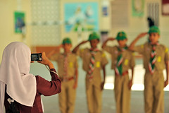 OMA-Muscat-0812-133-v1 (anthonyasael) Tags: camera girls boy boys students girl horizontal kids standing children person cub kid student model holding uniform asia child gulf view 5 five release country honor scout pride front photographic arabic east identity only anthony schoolchildren middle schoolgirl peninsula oman schoolgirls muscat pupil hold photographing islamic scouting schoolboy schoolchild clicking saluting schoolboys asael