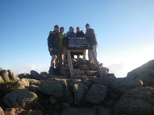 Summit Group @ Katahdin Summit