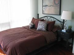 Dt Bedroom after Staging