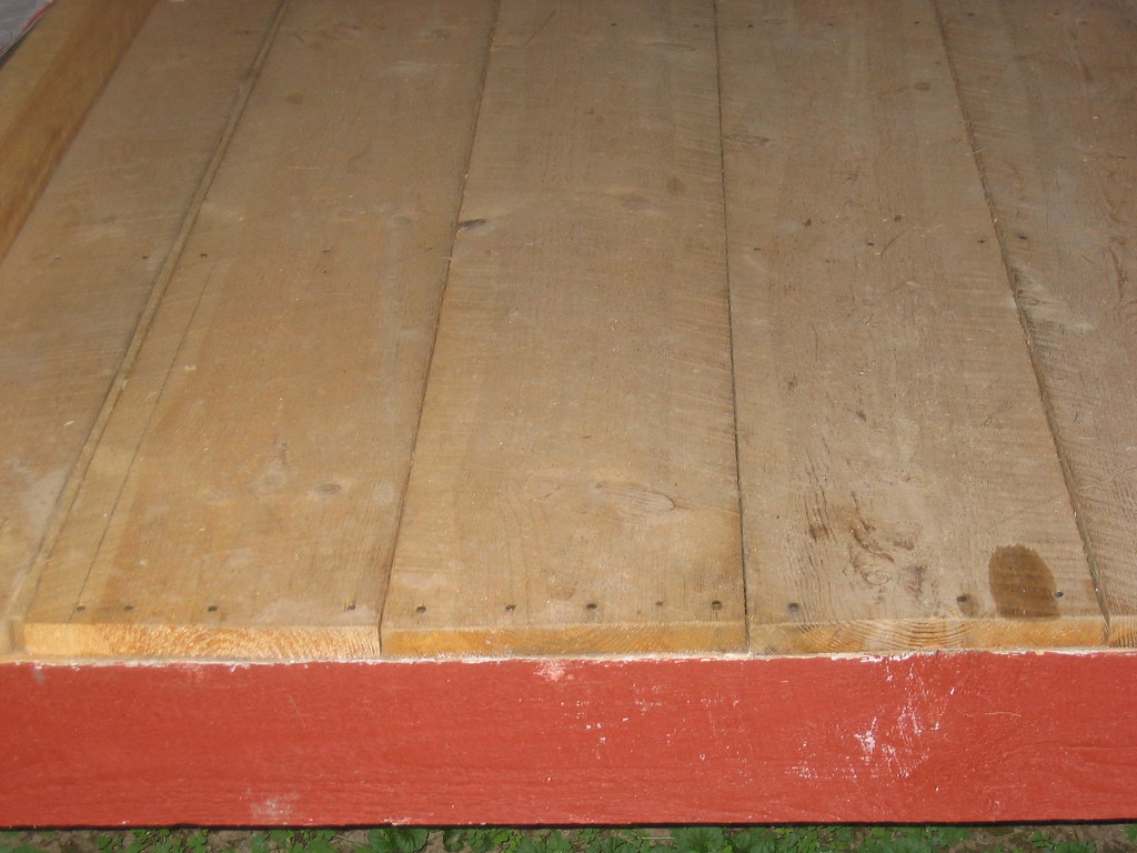 Shed Option 2: Floor Decking