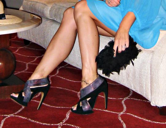nicholas kirkwood heels+petal clutch+diy