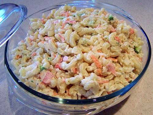 Crab-Pasta Salad