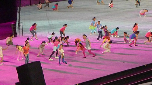 Opening Ceremony of Singapore YOG 2010
