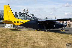 G-CHEZ BRITTEN-NORMAN BN-2B-20 2234 POLICE - UK  - 100724 - Farnborough - Alan Gray - IMG_3188
