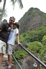 Mark & Alex at Iao Valley
