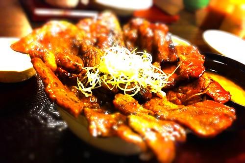 20100815夜 ボリューム満点豚丼