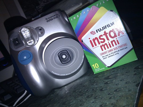 Fujifilm Instax Mini 7 With Film