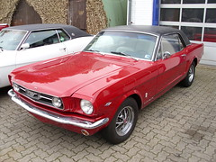 Ford Mustang Coupe GT 283 1965 -1- (Zappadong) Tags: ford mustang coupe 1965 lneburg 283 truckshop